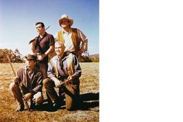 Bonanza Michael Landon Cast Vintage 8X10 Color TV Western Mermorabilia P... - $6.99