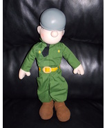 Vintage 1985 Beetle Bailey 14 inch Comic Plush Toy Doll - $29.99