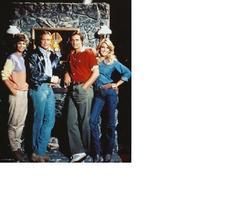 Fall Guy Heather Thomas Lee Majors Cast Vintage 8X10 Color TV Memorabili... - $4.99
