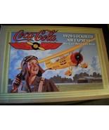 NEW 1994 COCA-COLA ERTL 1929 LOCKHEED AIR EXPRESS PLANE DIE-CAST METAL C... - $29.69