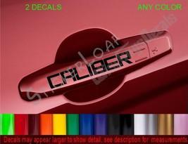 Dodge Caliber Door Handle Decals Sticker Decal Stickers Plymouth Chrysler - $4.94