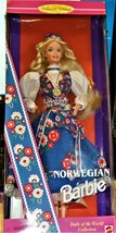 Barbie Doll - Norwegian Barbie (Dolls of the World Collection) - $39.00