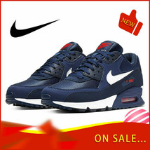 Original authentic NIKE AIR MAX 90 ESSENTIAL men's running shoes fashion - $72.48