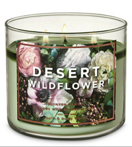 Bath & Body Works Desert Wildflower Three Wick.14.5 Ounces Scented Candle - $22.49