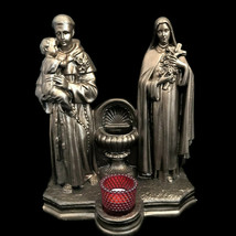 Holy Water Font with St. Anthony & St. Therese - $360.00