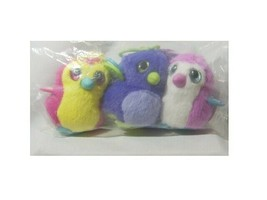 HATCHIMALS PLUSH CLIP-ON PACK OF 3 DIFFERENT SET 1  B19-1 - $15.00