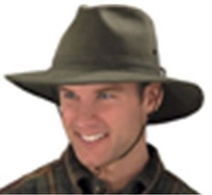 NEW USA MADE Henschel PolycottonTwill Aussie Outback Hat With Lining NWT... - $49.95