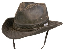 NEW Conner Hats Distressed Cotton OUTBACK Hunting Fishing Hat NWT Brown ... - €43,23 EUR