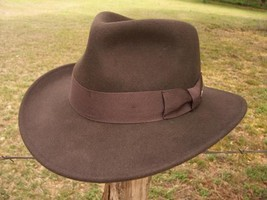 NEW Indiana Jones Harrison Ford MOVIE Fedora CRUSHABLE RAIN PROOF Wool H... - $59.95