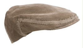 NEW Conner Hats Corduroy IVY Driver Cabbie Cap Newsboy Golf Hat Brown NWT - €25,55 EUR