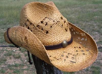 NEW Summit Hats BEACH River Party Raffia Straw Cowboy Western Hat Chin Strap
