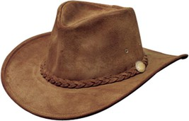 NEW USA MADE Henschel Crushable WEEKEND WALKER Brown Leather Western Cow... - £38.16 GBP+