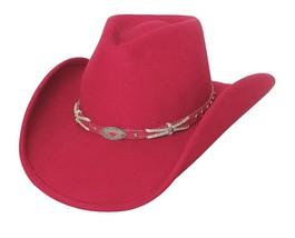 NEW Montecarlo Bullhide EMOTIONALLY CHARGED Premium Wool Western Cowboy ... - ₨4,325.65 INR