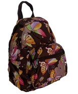 NEW Butterfly Travel Tote Backpack School Messenger Bag - £11.24 GBP