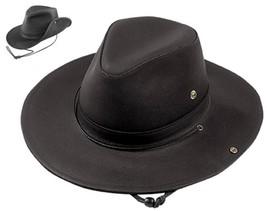 NEW USA MADE Henschel AUSSIE Dakota Leather Western Cowboy Hats + size a... - $85.95+