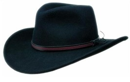 NEW Black Creek BC2004 Crushable Wool Felt Western Cowboy Hat MADE in th... - $1.053,27 MXN