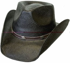 NEW Conner Hats Black Toyo Shapable Western Cowboy Hat NWT F5050 - €39,07 EUR