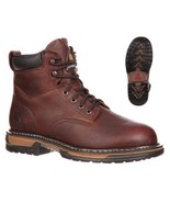 """NEW ROCKY Work Boots Men's 6"""" IRONCLAD WATERPROOF Full Grain Leather FQ0005696 - $159.95"""