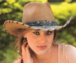 New Montecarlo Bullhide WIND OF CHANGE Genuine Panama Straw Cowboy Weste... - ₨6,909.17 INR