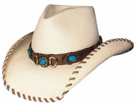 "NEW Montecarlo Bullhide ""BEST OF THE WEST"" Western Cowboy Hat Shantung P... - $58.36"
