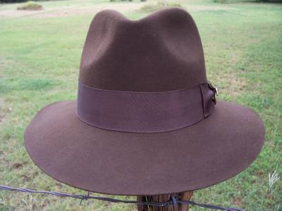 NEW QUALITY AUTHENTIC Indiana Jones Harrison Ford SATIN Lined Wool Fedora  IJ551 ed680d728e91