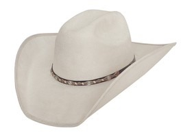 NEW Montecarlo Bullhide Hats CATTLE TOWN Faux Felt Western Cowboy Hat NW... - $55.95