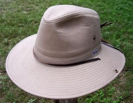 NEW Conner Hats Organic Cotton WATER PROOF OUTBACK Hunting Fisching Hat ... - €43,33 EUR