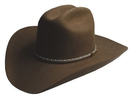 NEW SILVERADO Hats WINCHESTER 2X Wool Western Cowboy Hat Brown MADE in t... - €64,58 EUR