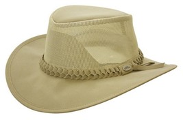 NEW Conner Hats Outback Golf Crushable Soakable Faux Suede Western Cowbo... - €42,61 EUR