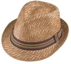 NWT Henschel FEDORA Mens Vented Straw Lightweight Comfortable Hat New - $35.95