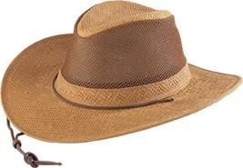 NEW MADE in the USA Henschel Hats HIKER Golf Raffia Straw Western Cowboy... - $87.95