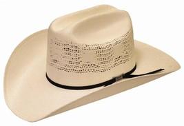 NEW SILVERADO Hats DESERT BREEZE Bangora Straw Western Cowboy Hat Ivory NWT - €60,33 EUR