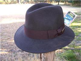 NEW AUTHENTIC Indiana Jones Harrison Ford CRUSHABLE Rain Proof Safari Fe... - $56.95