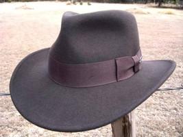 NEW AUTHENTIC Indiana Jones Harrison Ford Crushable Fedora MOVIE Promoti... - $54.95