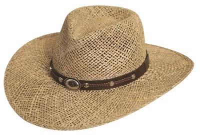NEW SILVERADO Hats SISKIYOU Seagrass Straw Western Cowboy Hat MADE in the USA