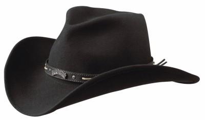 NEW JACK DANIEL'S 100% Wool Crushable Water Rep Western Cowboy Hat JD03-F USA