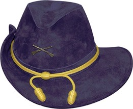 NEW Henschel CIVIL WAR Military OFFICER re-enactment Suede Leather Hat B... - $89.95+