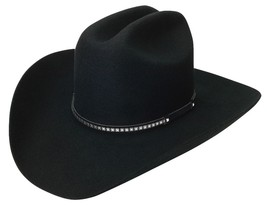 NEW SILVERADO Hats SILVER CITY 2X Wool Western Cowboy Hat Black MADE in ... - €70,77 EUR