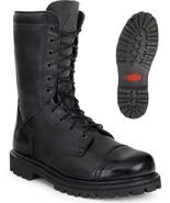 NEW ROCKY Duty Work Boots WATERPROOF ZIPPER Leather PARABOOTS Black FQ0002095 - $149.99 - $154.99