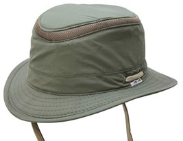 NEW Conner Hats Anti Glare Fedora Boater Fishing Hiking Hat IT FLOATS Olive - £26.87 GBP+