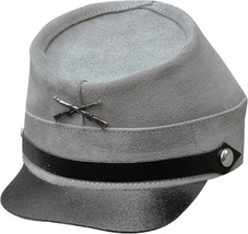 NEW Henschel Hats Quality CIVIL WAR Military Cowhide Suede Leather Hat G... - $70.95