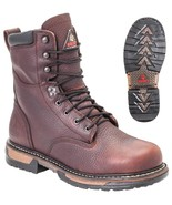NEW Men's Rocky IronClad Insulated 400G Waterproof Leather Work Boots FQ0005694 - $169.99