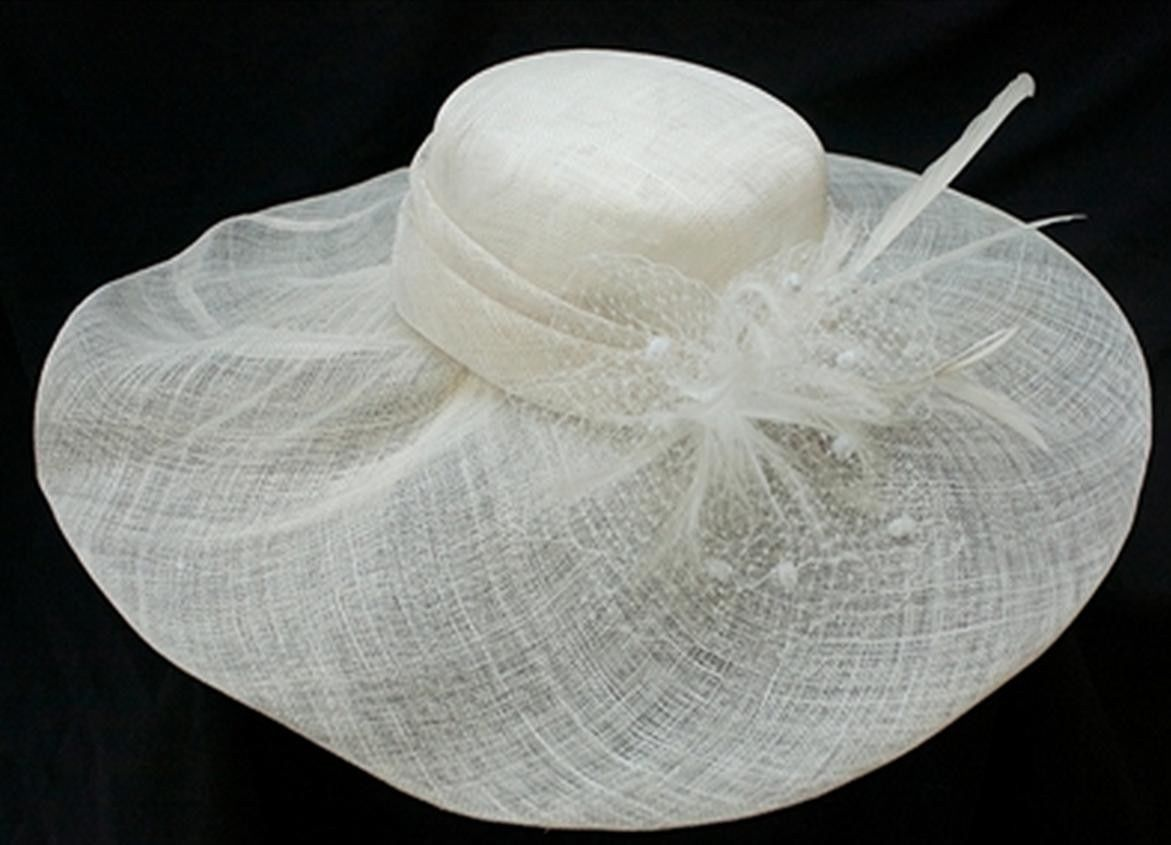 2241565912e NEW Conner Hats Pure White Sinamay Quality and 50 similar items