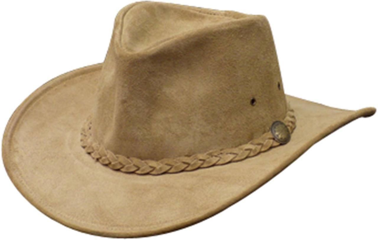 NEW USA MADE Henschel Crushable WEEKEND WALKER Tan Leather Western Cowboy Hat