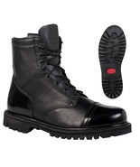 """NEW ROCKY 7"""" Military Duty Work Boots WATER Res ZIPPER PARABOOTS FQ0002091 - $119.99 - $124.99"""
