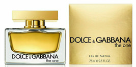 DOLCE & GABBANA The One Eau de Parfum spray 2.5 oz 75ml for Woman NEW  - $59.99