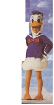 BOY DUCK COSTUME  SIZE SMALL 4/6 - $49.99
