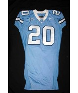 UNC Tarheel GAME USED WORN FOOTBALL JERSEY Sz50... - $129.00
