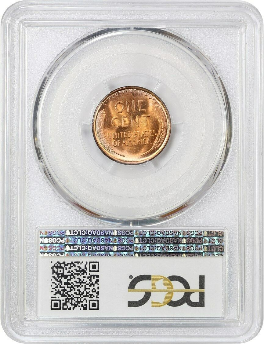 1936 1c PCGS/CAC MS67 RD - Blazing Red! - Lincoln Cent - Blazing Red!