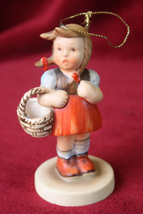 1984 Schmid European Girl Ornament 2nd Edition - $11.99